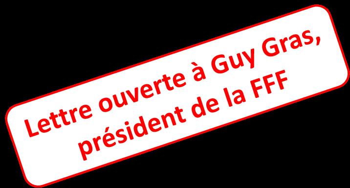 Lettre ouverte à Guy Gras, président de la Fédération Française de la Franchise